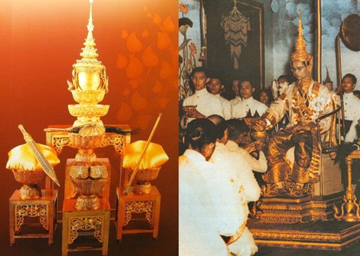 พระมหากษัตริย์ไทย พระราชพิธี พิธีบรมราชาภิเษก ราชวงศ์ ในหลวงรัชกาลที่ 9