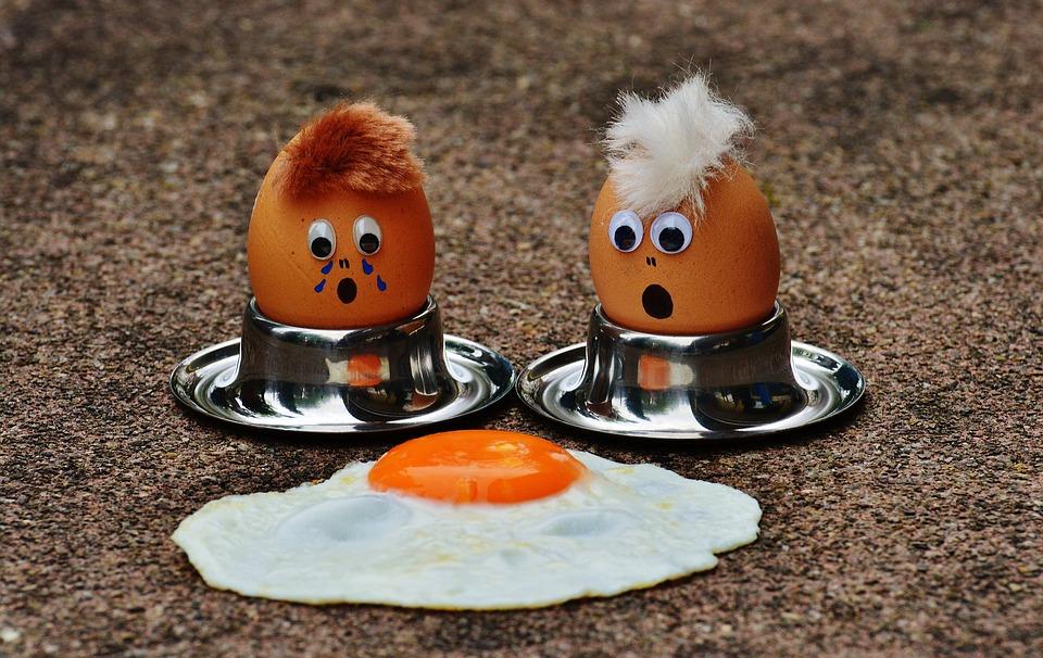 อาหาร แผลเป็น ไข่