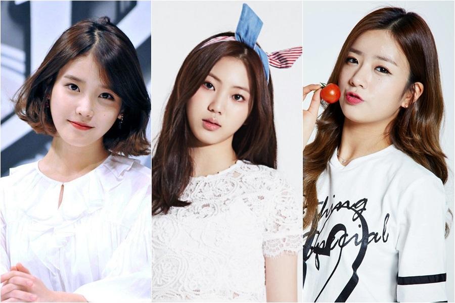 ดาราเกาหลี สาวน่ารัก ไอดอลหญิงเกาหลี