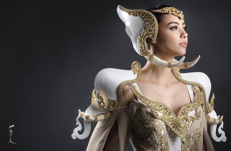 Miss Grand International 2016 Miss Grand Thailand Miss Grand Thailand 2016 ชุดประจำชาติ พลายทรงสุริยกษัตริย์