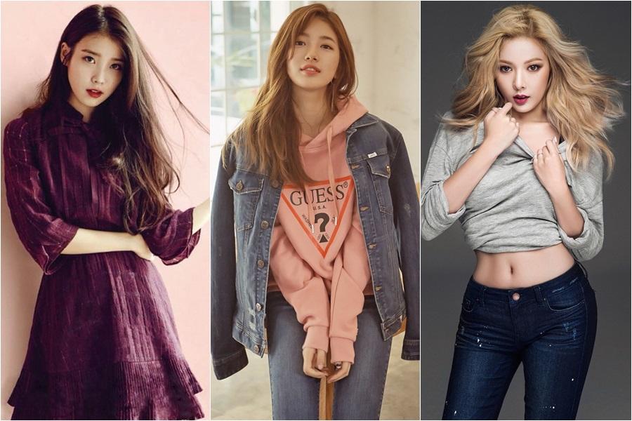 ดาราเกาหลี นักร้องเกาหลี เกิร์ลกรุ๊ป ไอดอลหญิงเกาหลี