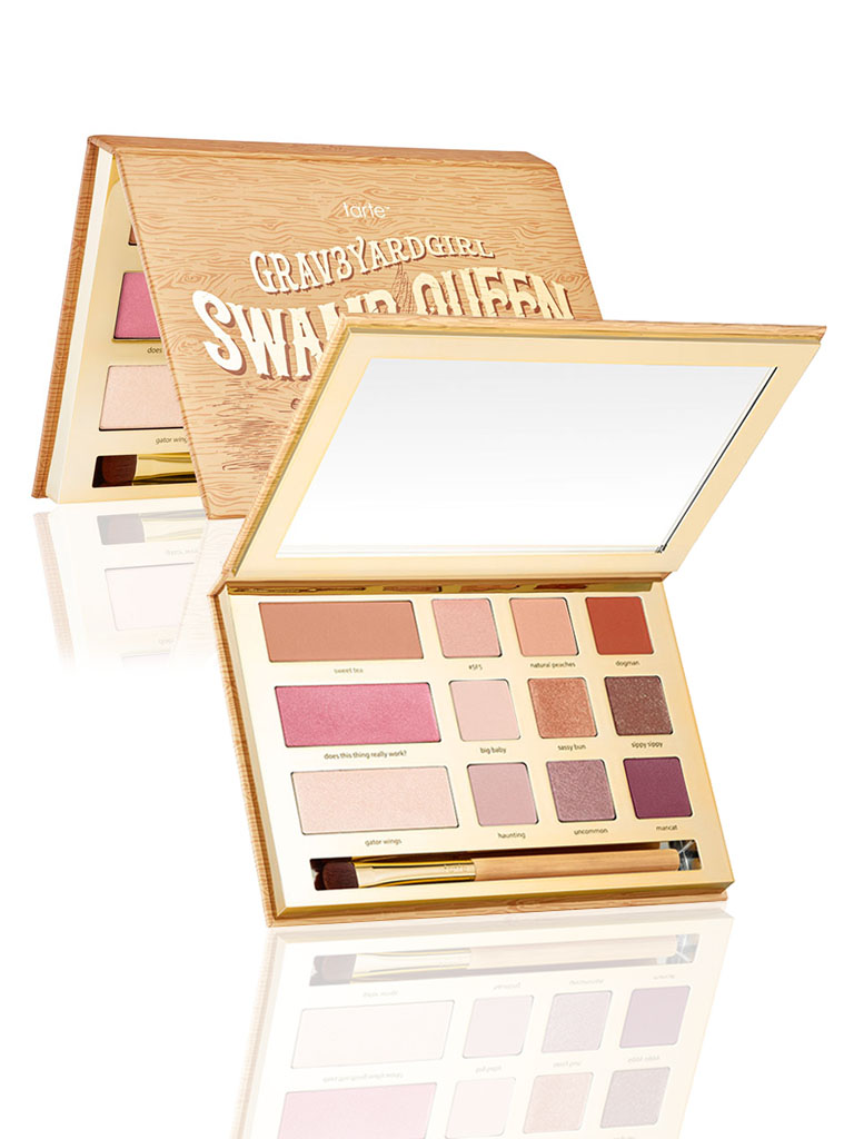 limited edition Swamp Queen eye cheek palette with brush
