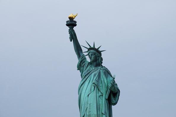 New York City ภาพมุมสูง ภาพสวย