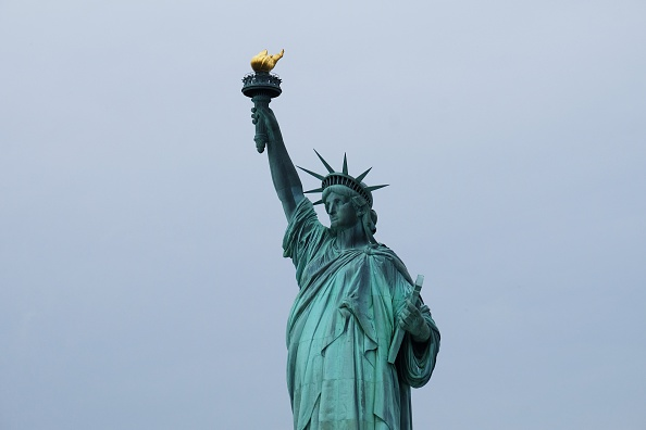 The Statue of Liberty is pictured on July 4, 2015 in New York. The US is ramping up security across the country and urging people to stay alert over the Independence Day holiday weekend over fears of a terrorist threat. AFP PHOTO/JEWEL SAMAD (Photo credit should read JEWEL SAMAD/AFP/Getty Images)