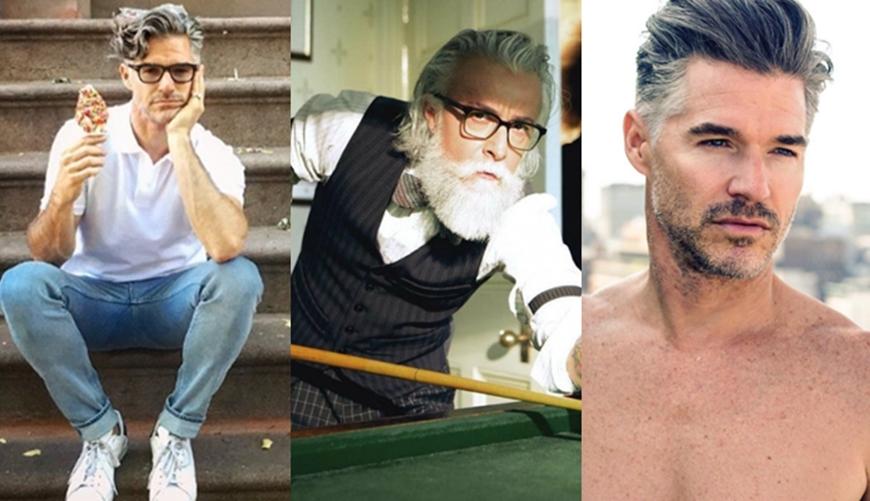 คนแก่ดูดี ดูดี ผู้ชาย ภาพหาดูยาก หนุ่มใหญ่