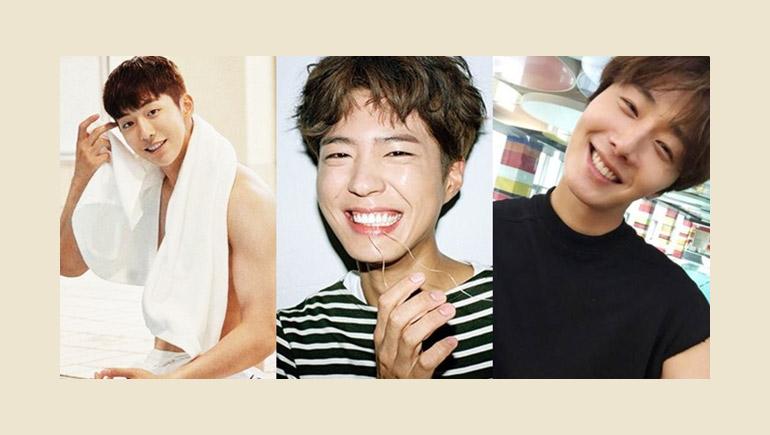 Ji Soo Nam Joo Hyuk Park Bo Gum พระเอกเกาหลียิ้มสวย เกาหลี