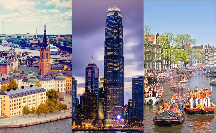 การจัดอันดับ เมืองที่ปลอดภัยที่สุดในโลก