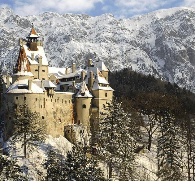 18. ปราสาท Bran แดรกคูล่า