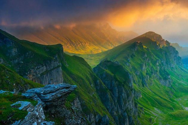 5. ภาพภูเขา Bucegi