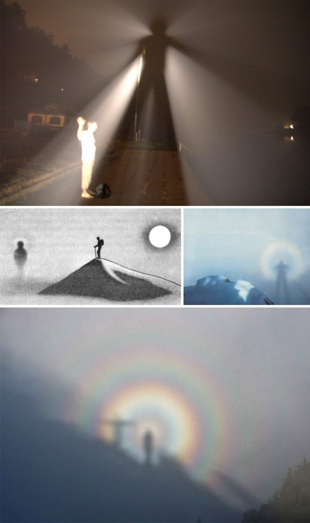 8 Brocken spectre