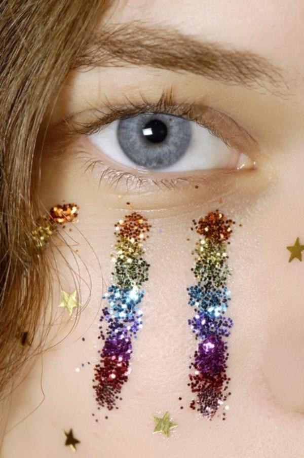 Glitter Makeup (6)