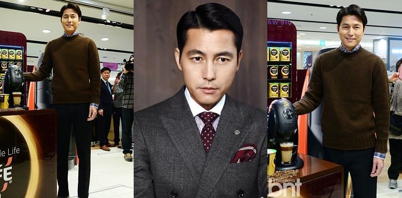 Jung Woo Sung Nescafe Barista