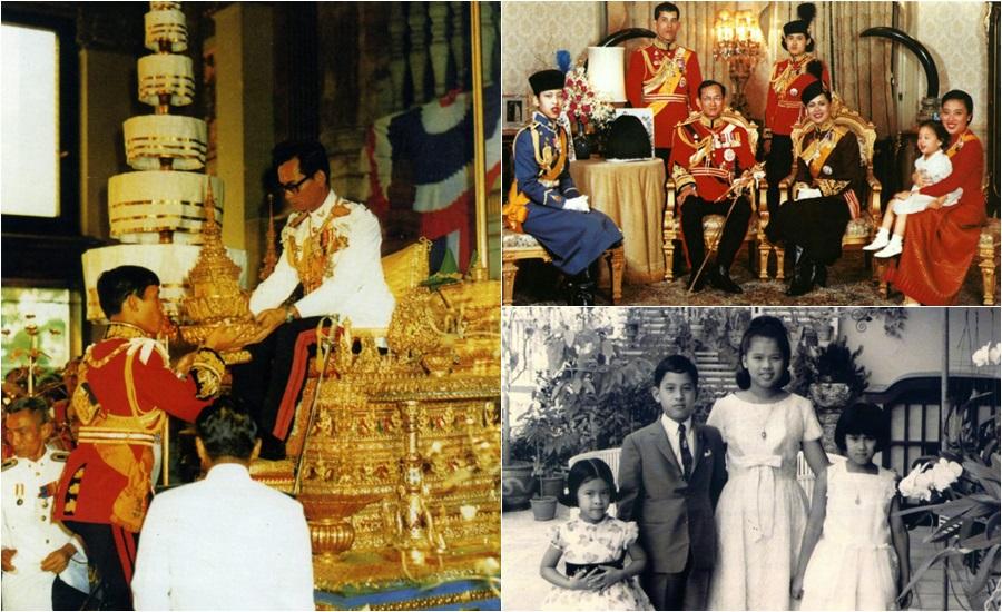 พระมหากษัตริย์ พระมหากษัตริย์ไทย พระอิสริยยศ ยศ ราชวงศ์ ในหลวงรัชกาลที่ 10 ในหลวงรัชกาลที่ 9