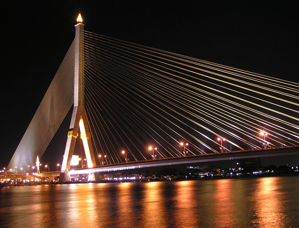 กรุงเทพฯ สะพาน สะพานข้ามแม่น้ำเจ้าพระยา แม่น้ำเจ้าพระยา