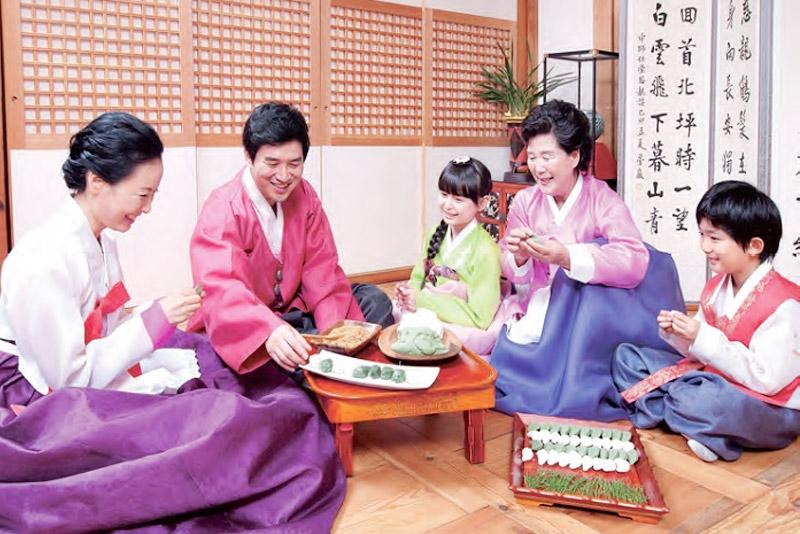 คำศัพท์เกาหลี ญาติ ภาษาที่สาม ภาษาเกาหลี เกาหลี