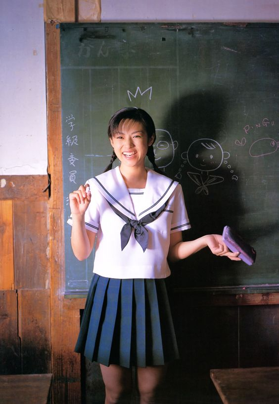 kyokofukada uniform