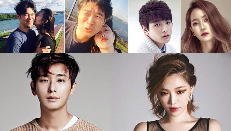 คู่รักดาราเกาหลี ซอลลี ดาราเกาหลี เกาหลี ไอดอลเกาหลี