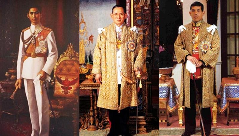 กรุงรัตนโกสินทร์ พระมหากษัตริย์ พระเจ้าอยู่หัว ราชวงศ์ ราชวงศ์จักรี ในหลวงรัชกาลที่ 10 ในหลวงรัชกาลที่ 9