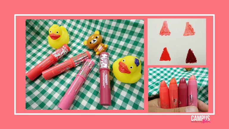 3D Lip Colour & Sculpt Gloss Stick 3D Volome Lip Shine Soap and Glory ถูกและดี ลิปสติก