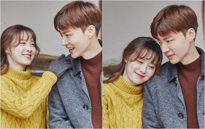 คู่รักดาราเกาหลี คูฮเยซอน อันแจฮยอน