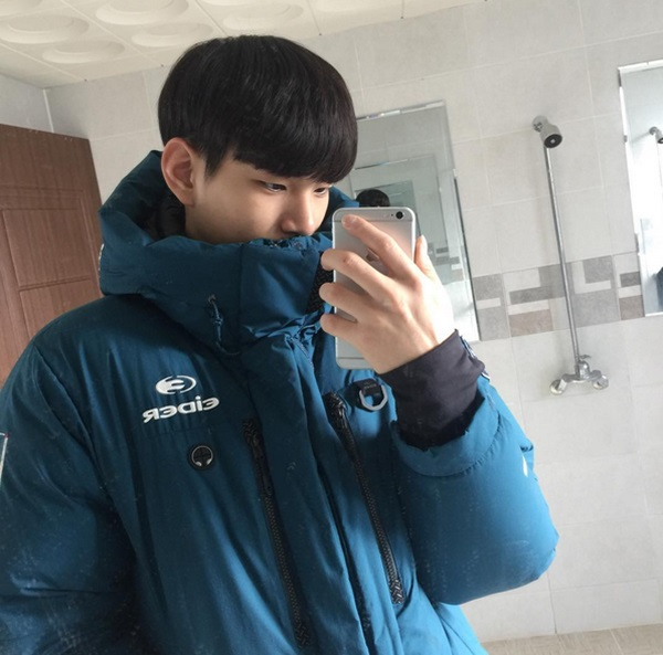 หนุ่มหล่อเกาหลี ซองจิน นักวอลเลย์บอล