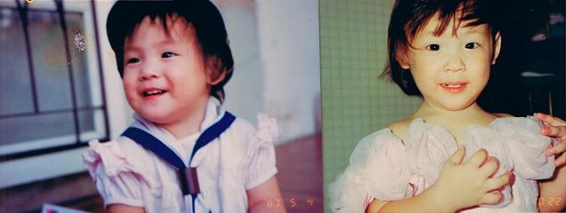 แพตตี้ อังศุมาลิน ตอนเด็ก