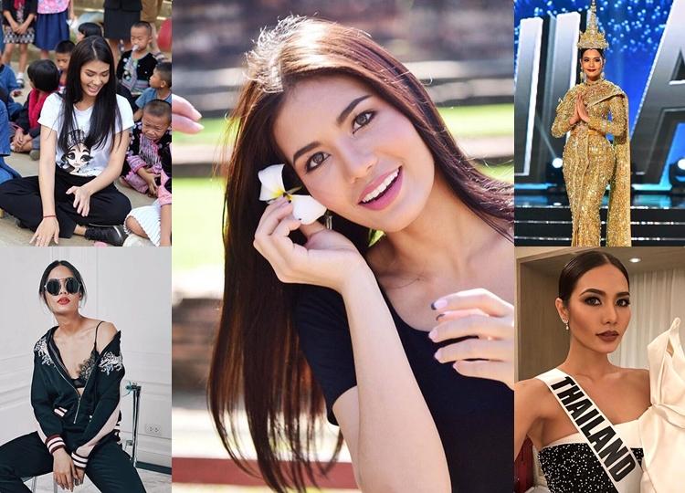 Miss Universe Miss Universe 2016 Miss Universe Thailand นางงาม น้ำตาล ชลิตา
