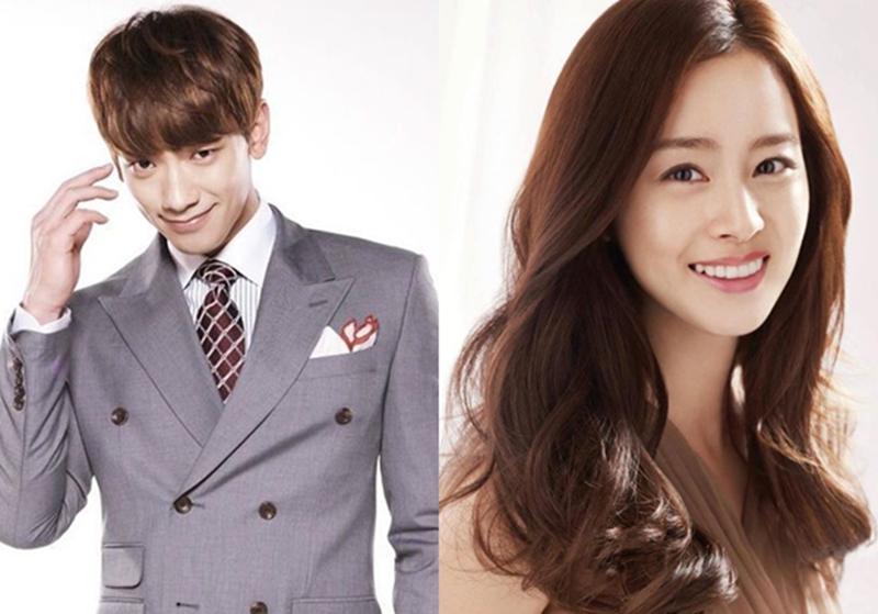 Kim Tae Hee Song Ji Hun ดาราเกาหลี เรน ประกาศแต่งงาน