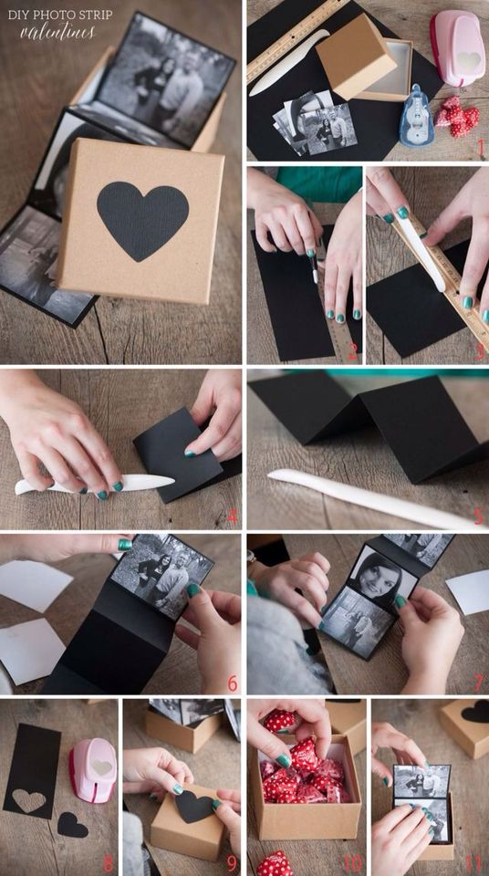 DIY บันทึกภาพถ่ายความรัก สุดน่ารัก