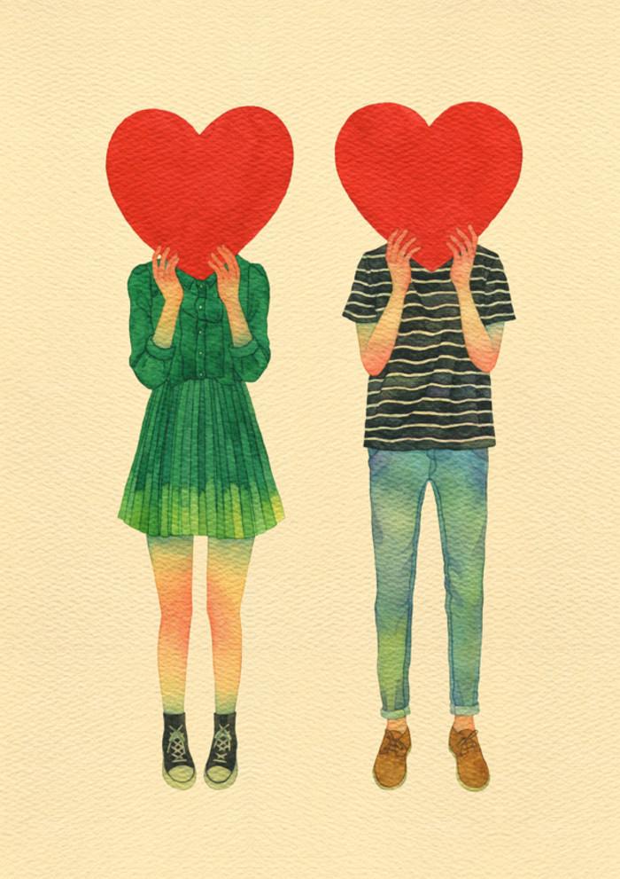 คู่รัก นักวาดเกาหลี ศิลปิน