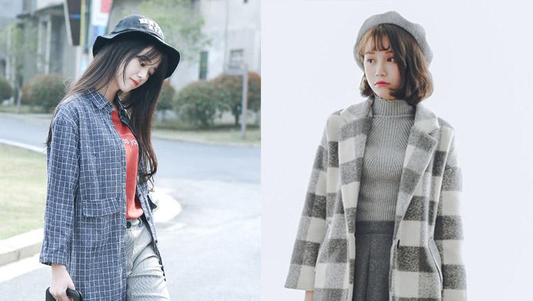 ใส่หมวกโม้เม้นท์คิวท์ๆ แบบแฟชั่นสาวเกาหลี