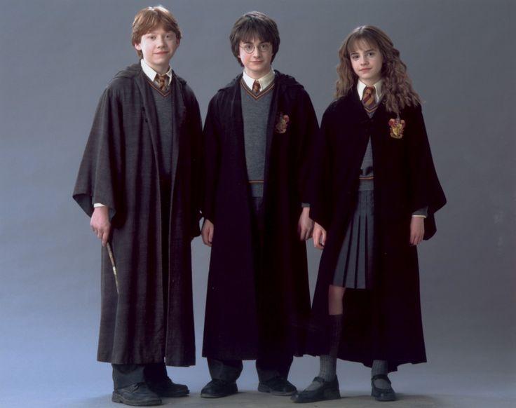 สามนักแสดงนำ รอน แฮร์รี่ เฮอร์ไมโอนี่