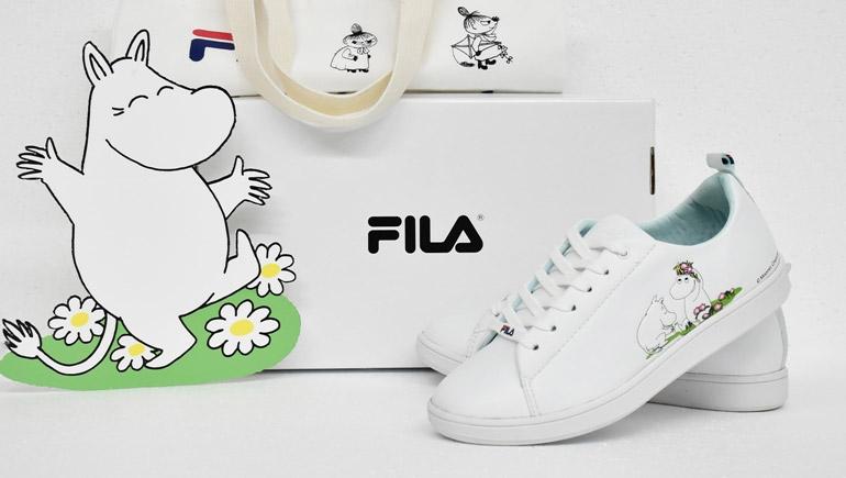 FILA X MOOMIN MOOMIN รองเท้าผ้าใบ