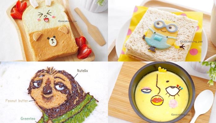 diy ขนมปัง อาหารเช้า เมนูอาหาร