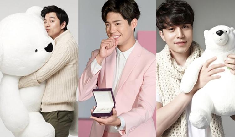 Gong yoo Lee Dong Wook Park Bo Gum วาเลนไทน์ เกาหลี