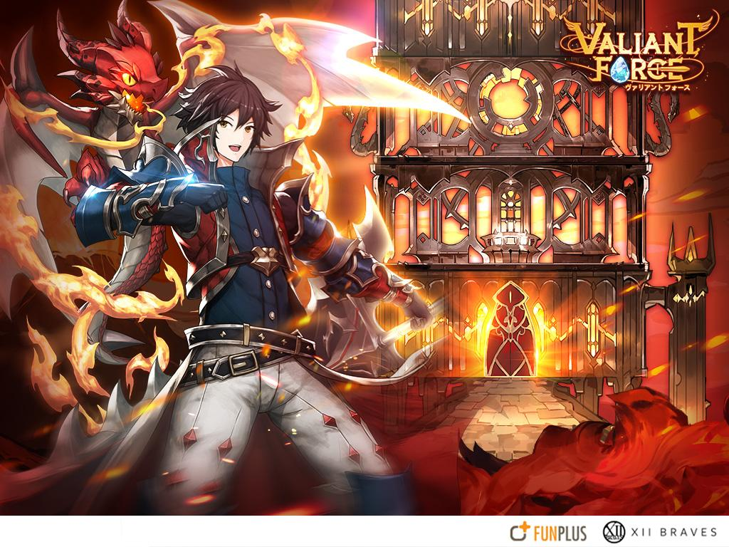 Game Mobile Valiant Force เกมมือถือ
