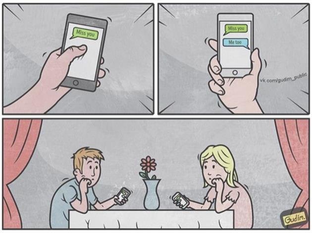 15 ภาพที่สื่อให้เห็นว่าในยุคสมัยนี้ คนเราติดสมาร์โฟนกันมากยิ่งขึ้น