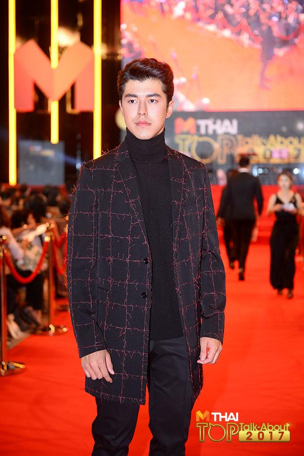 นาย ณภัทร ในงาน MThai Top talk-about Guy 2017