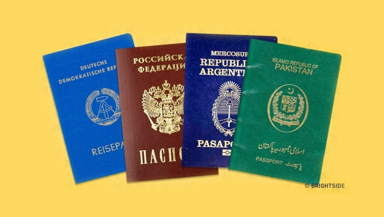 Passport ความหมาย ท่องเที่ยว พาสปอร์ต หนังสือเดินทาง