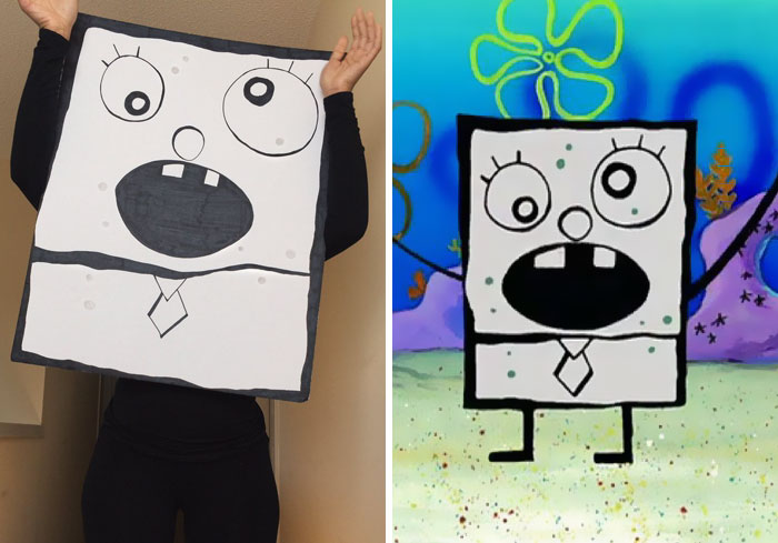 Doodlebob จากเรื่อง Spongebob