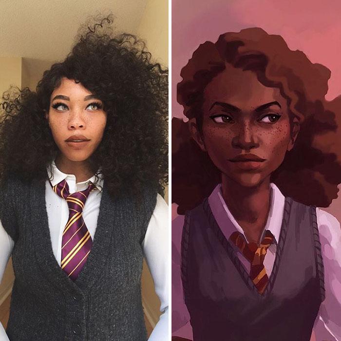 Hermione จากเรื่อง Harry Potter