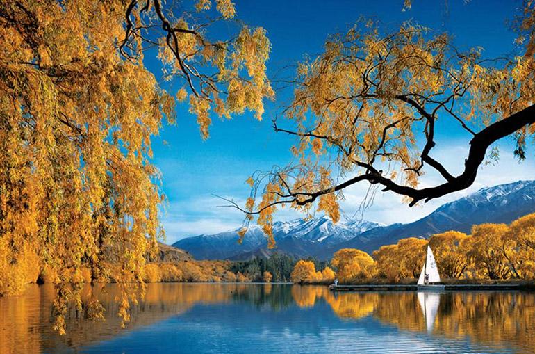 ทะเลสาบเบนมอร์ (Lake Benmore)