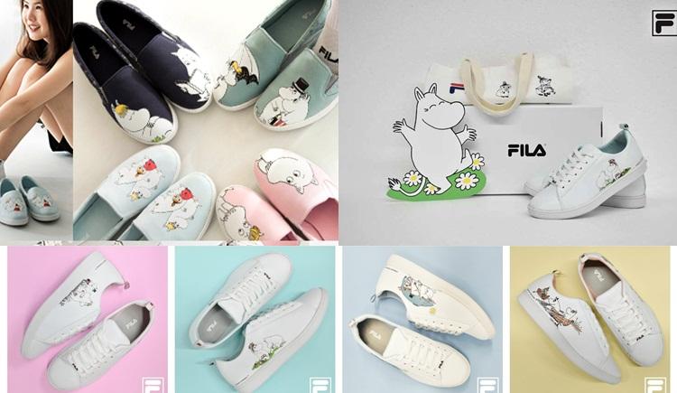 FILA MOOMIN รองเท้าผ้าใบ