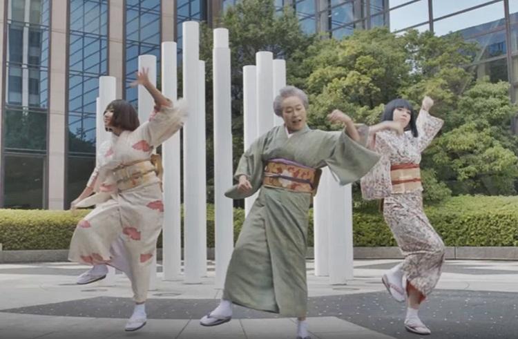 คลิปน่ารัก คลิปเต้น คุณยายสายแดนซ์ ญี่ปุ่น