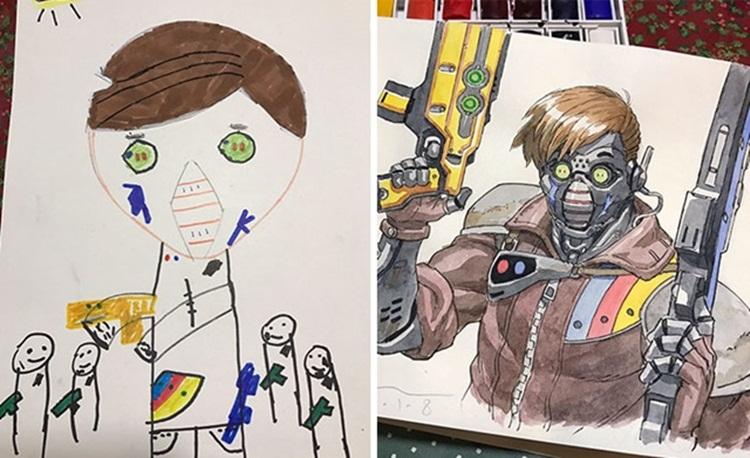 การ์ตูน ภาพวาด ศิลปะ