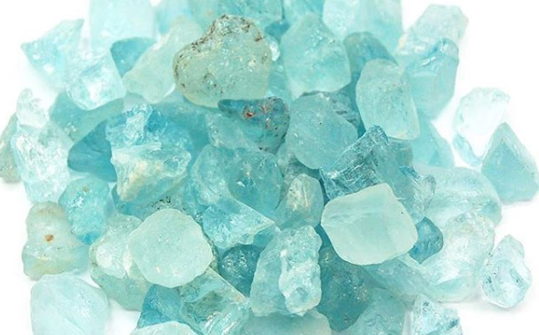 หิน Aquamarine