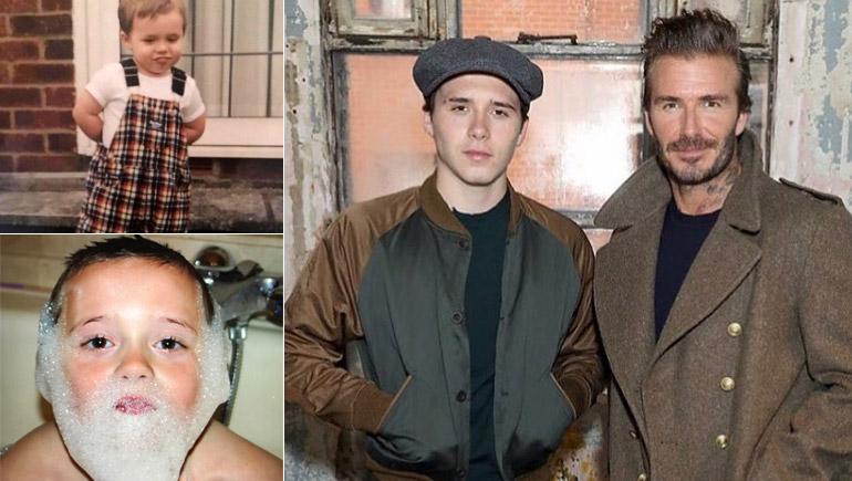 Beckham Brooklyn Beckham บรู๊คลิน เบ็คแฮม ลูกดารา