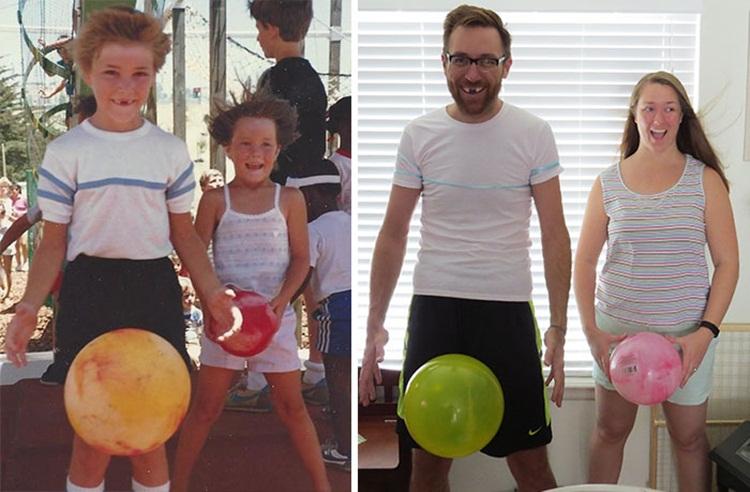 ภาพถ่ายตอนเด็ก VS ตอนโต ภาพน่ารัก