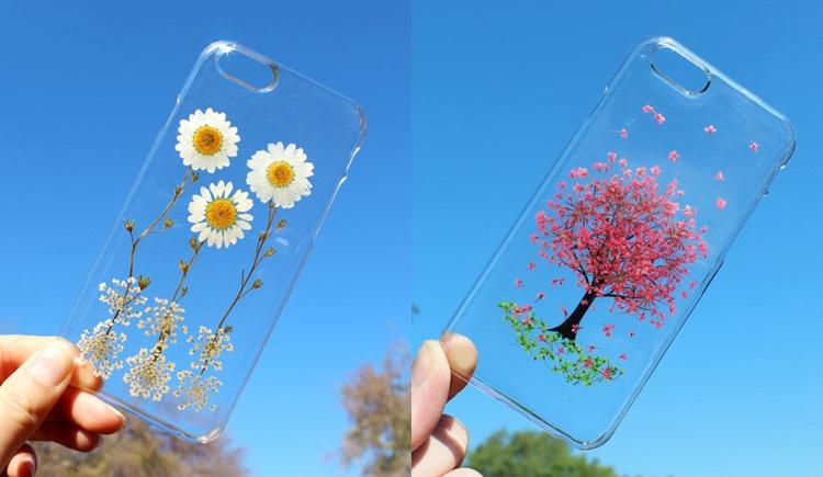 ดอกไม้ เคสมือถือ ไอเดียน่ารัก