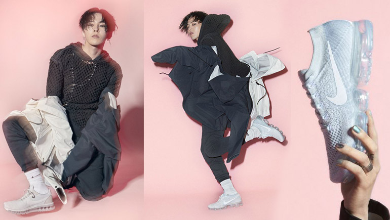 G-Dragon Nike Air Vapormax จีดราก้อน รองเท้า ไนกี้